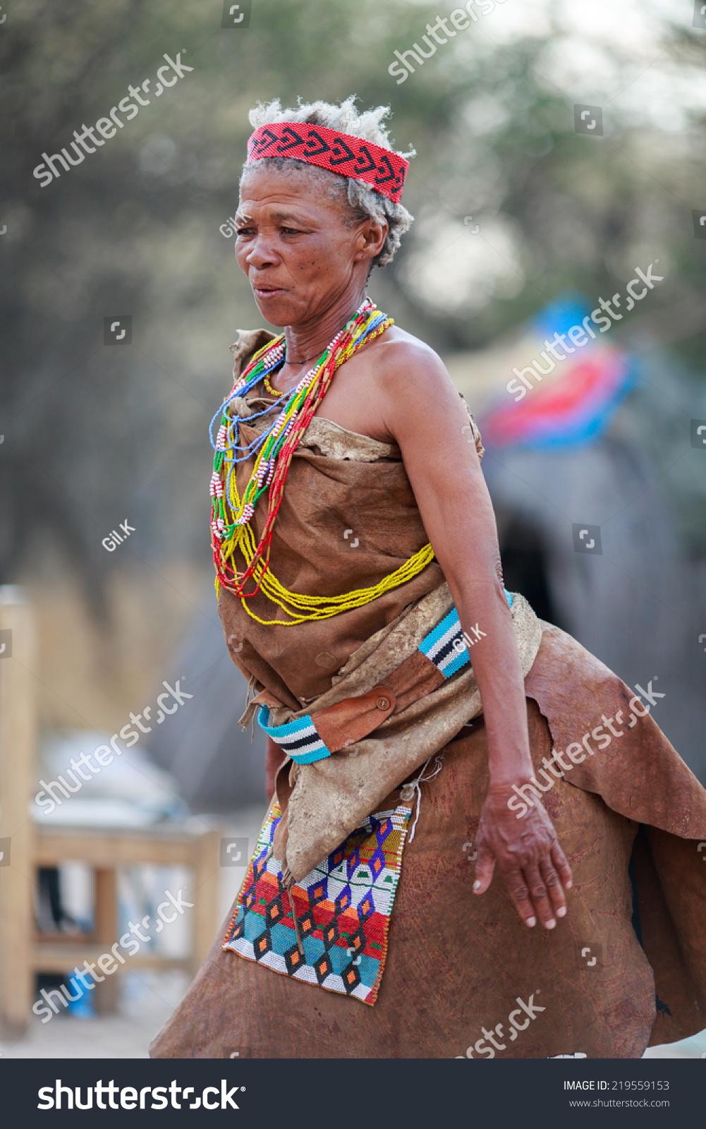 Commit San people of botswana