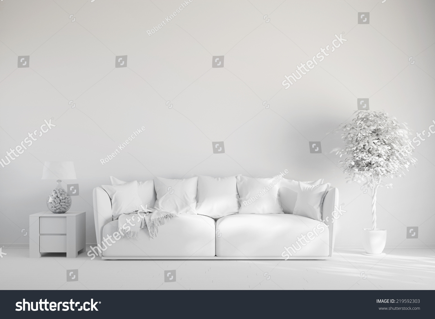 in illustration room image a stock of photo sofa shutterstock living wall white with front