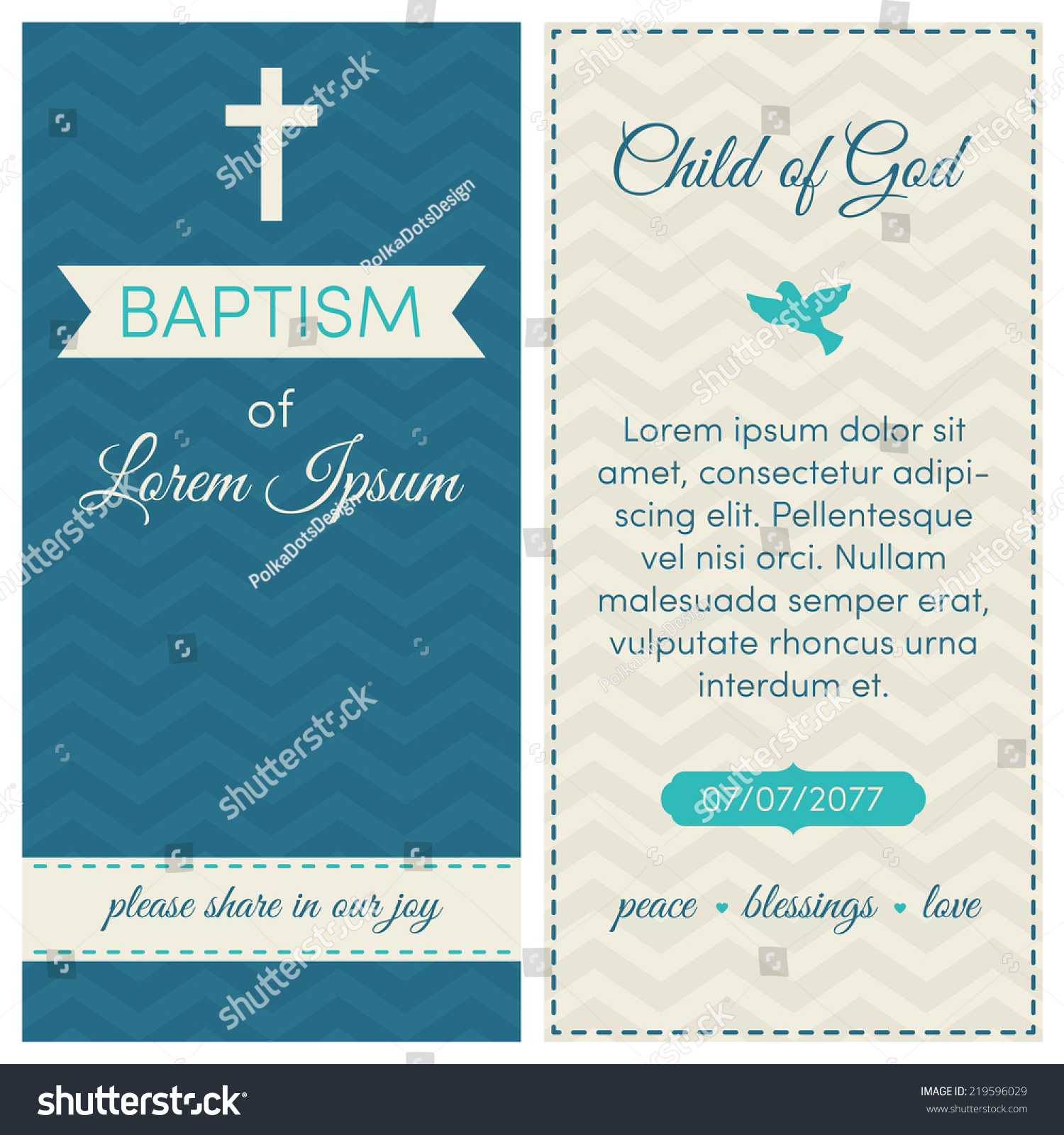 White Baptism Invitations is Elegant Layout To Create Beautiful Invitations Template