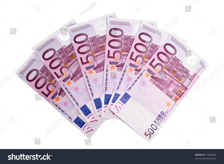 3000 euro in five hundred banknotes stock photo 21962944. Black Bedroom Furniture Sets. Home Design Ideas