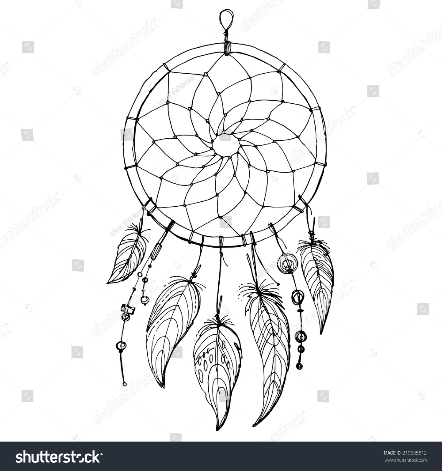 What Is A Dream Catcher Vine Dream Catcher  Dreamcatcher  Wikipedia The Free Encyclopedia