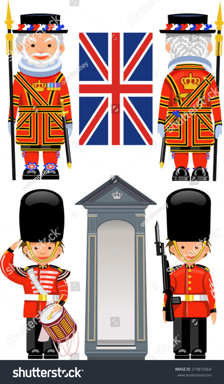 315 Buckingham Palace Stock Illustrations Cliparts And
