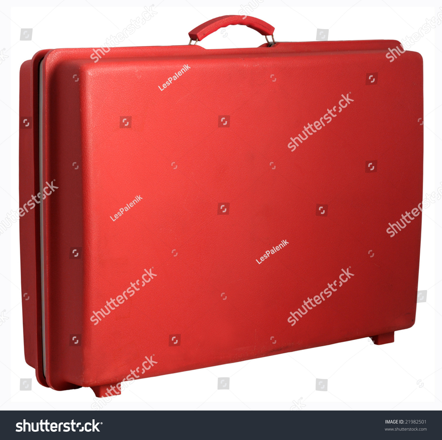 Red Vintage Suitcase Stock Photo 21982501 - Shutterstock