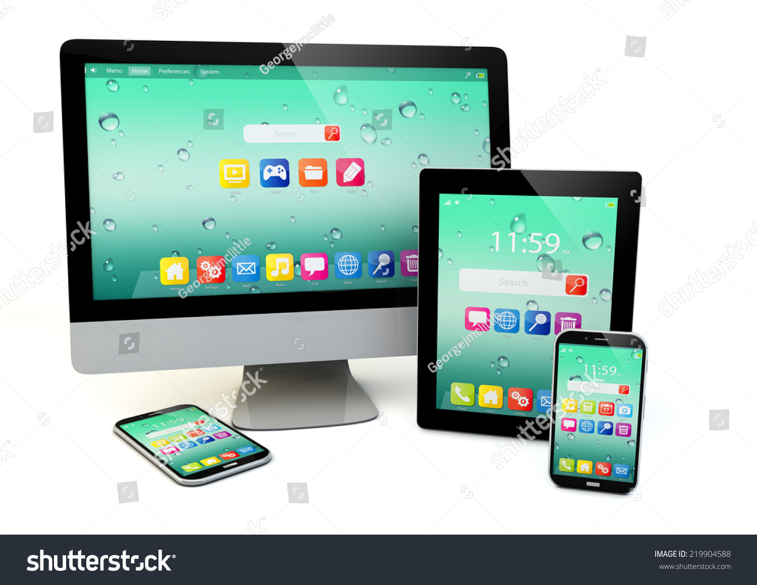 desktop or smartphone - photo #1