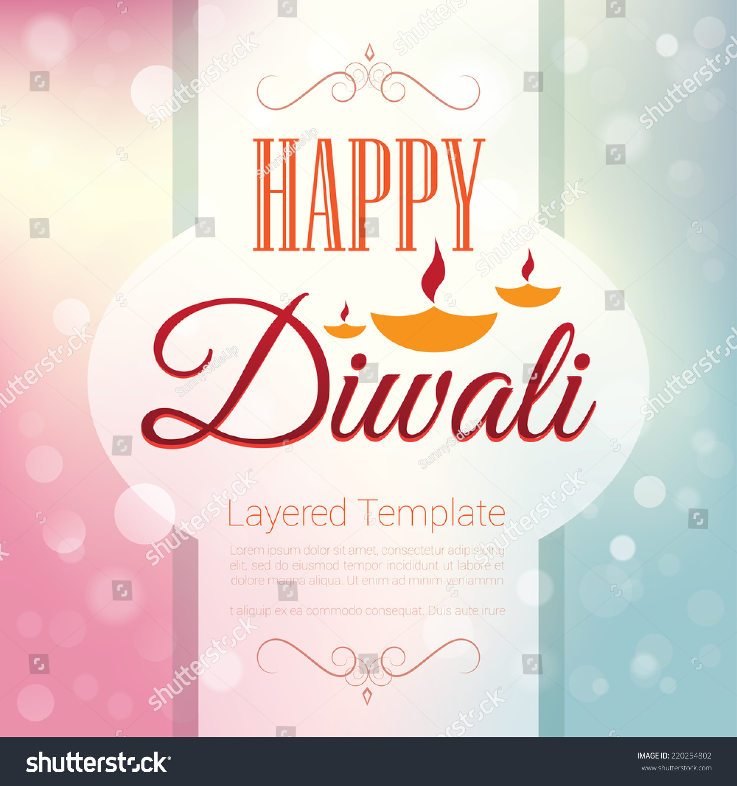 Poster backgrounds design - Happy Diwali Poster Template Background Design Greeting