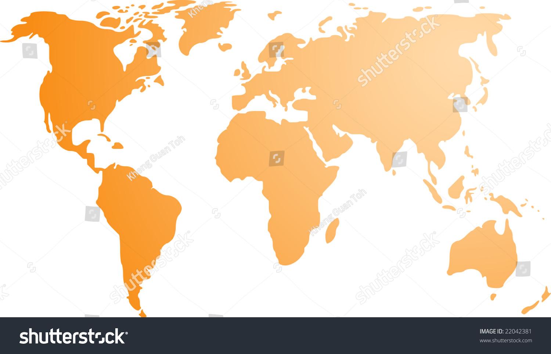 World Map Empty Throughout Grahamdennisme My Major Map Fiu - Basic world map outline