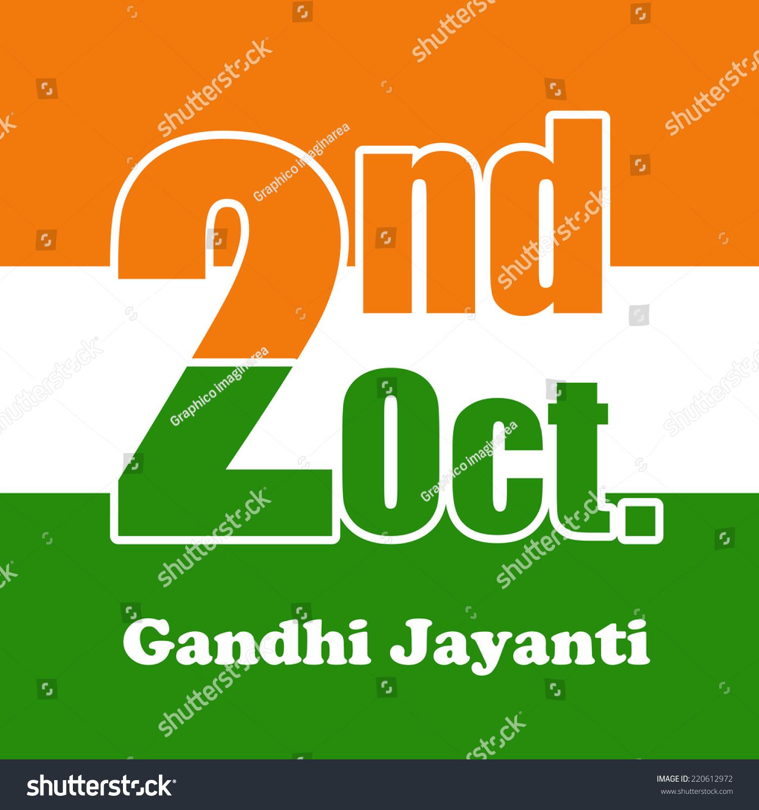gandhi birthday Illustration Gandhi Jayanti Celebrated By Indians Stock Vector  gandhi birthday