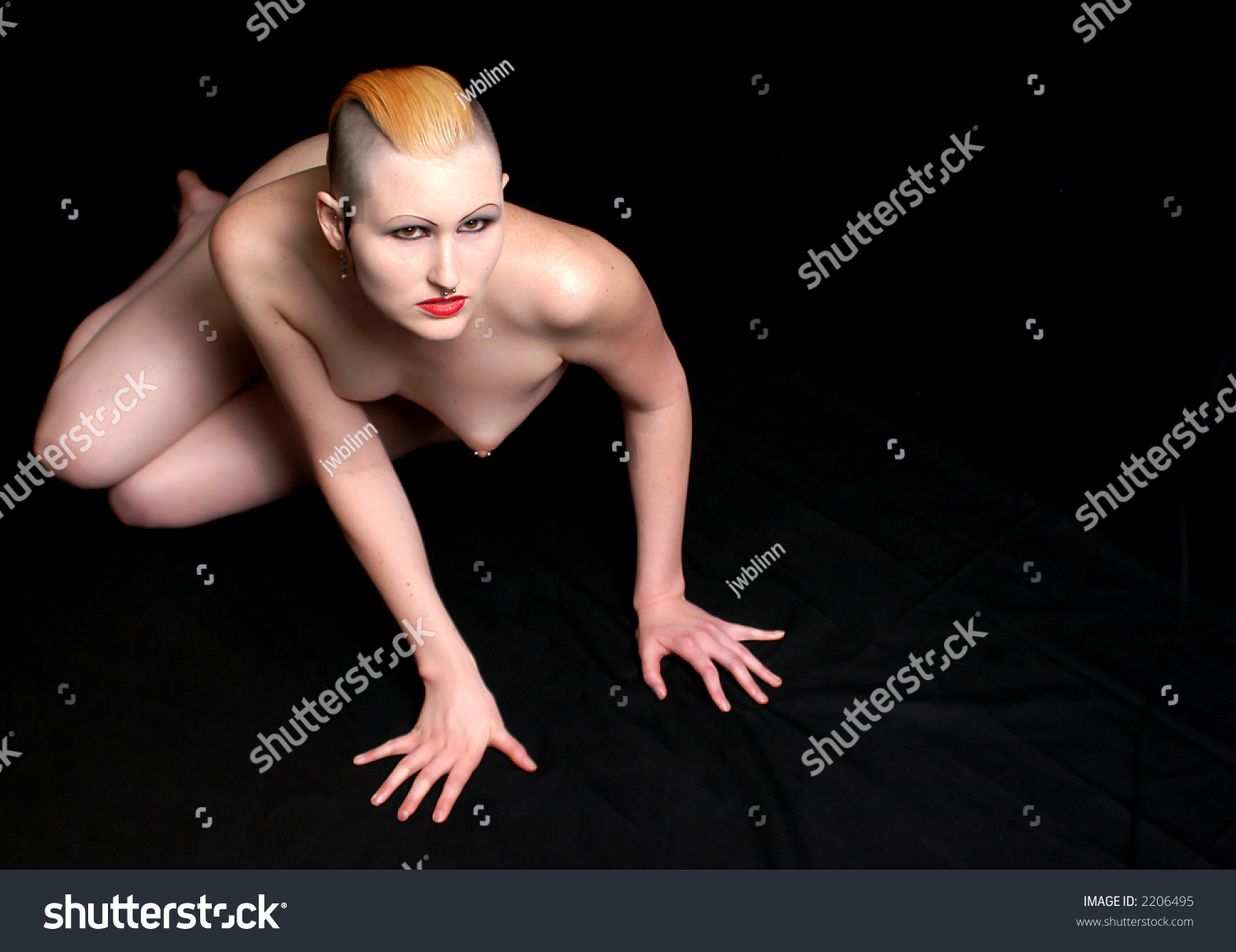 Nude Goth Girl Pics Great goth girl nude stock photo 2206495 - shutterstock
