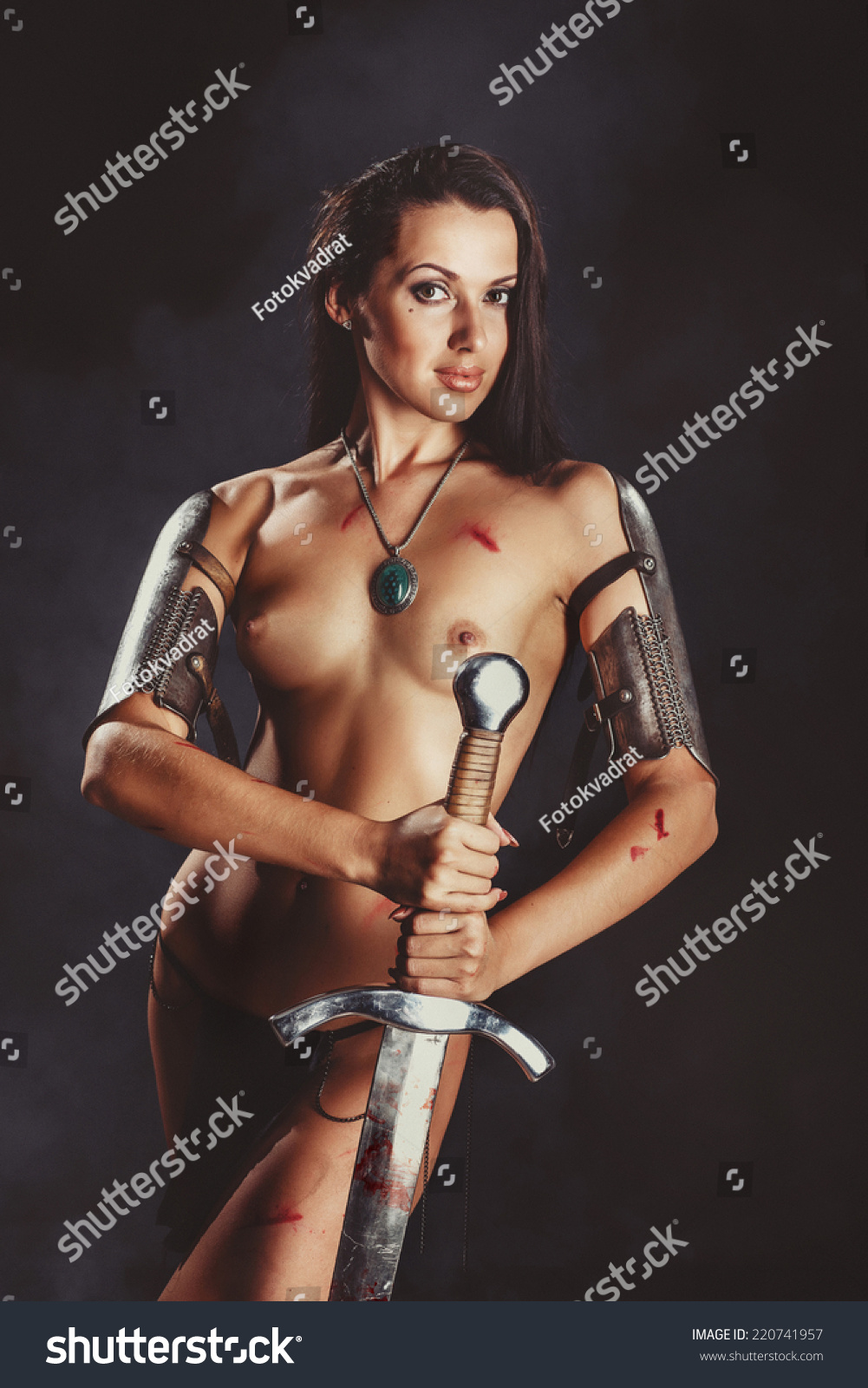 Naked women warriors and angels fantasy sexy image