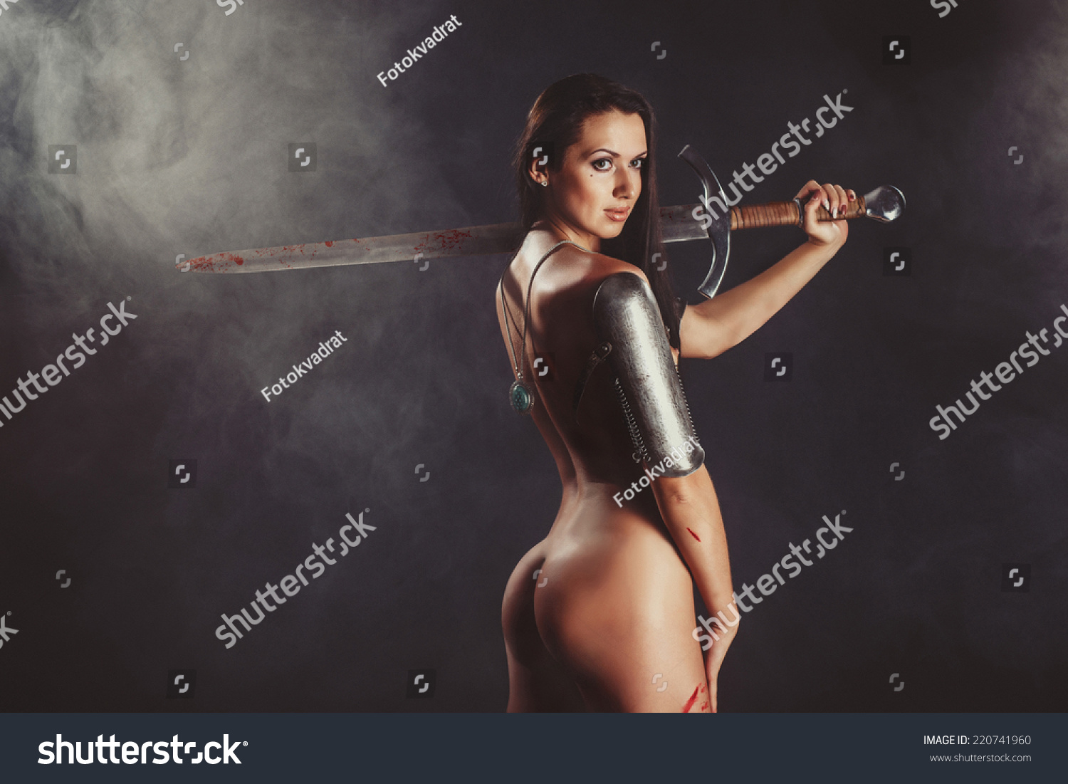 Nude Woman Warriors 30