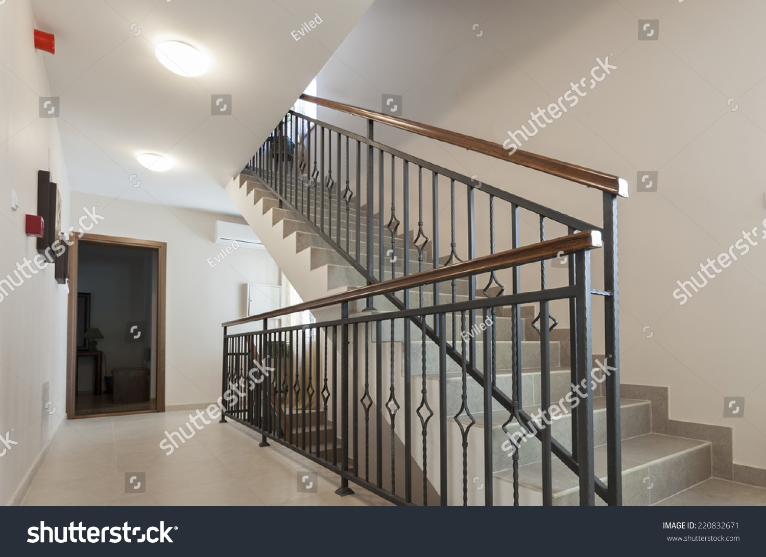 Stairs Apartment Building Stock Photo 220832671 - Shutterstock
