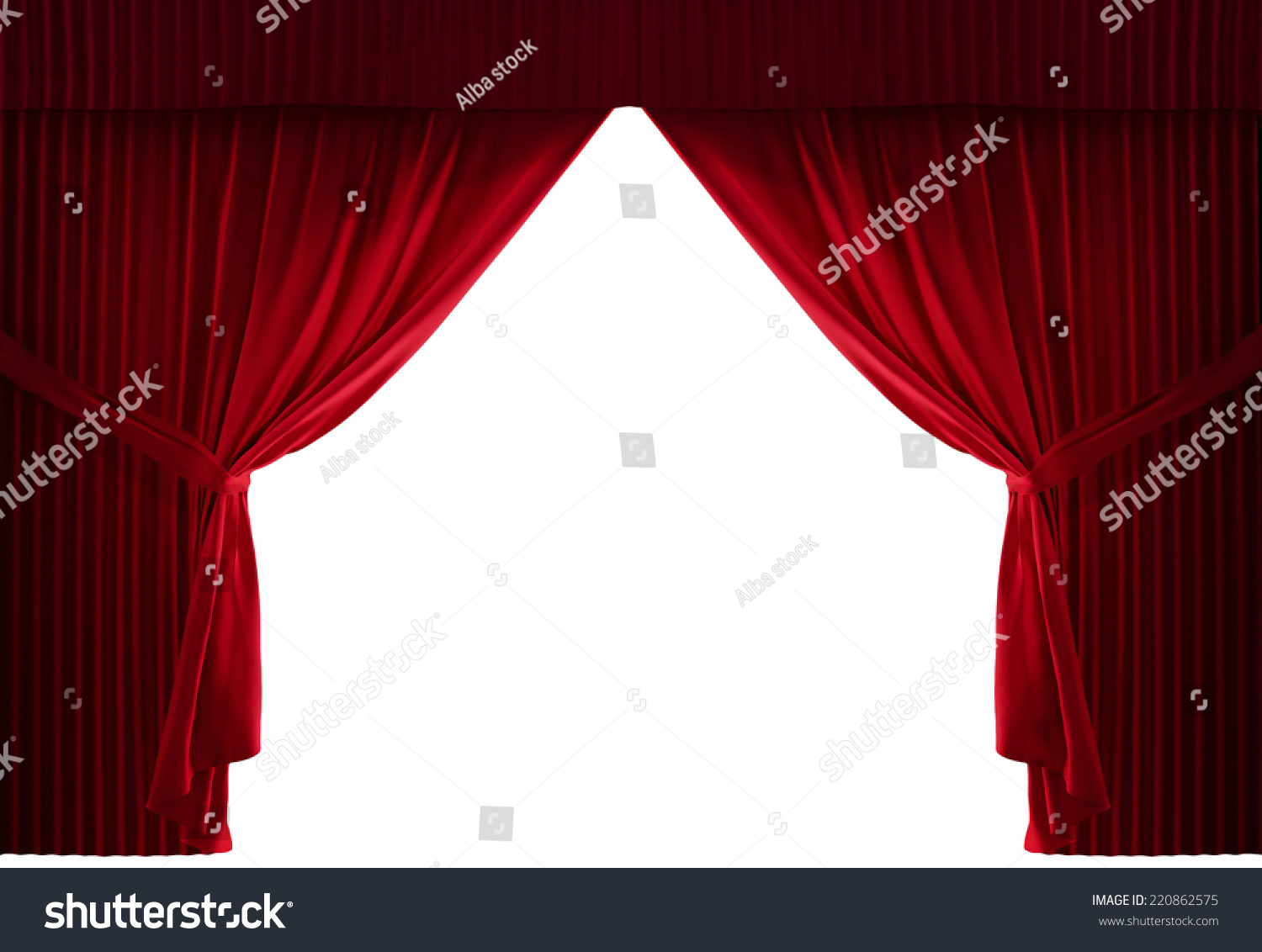 Stage curtain background open stage curtains background red stage - Realistic Stage Curtains With A Black Background
