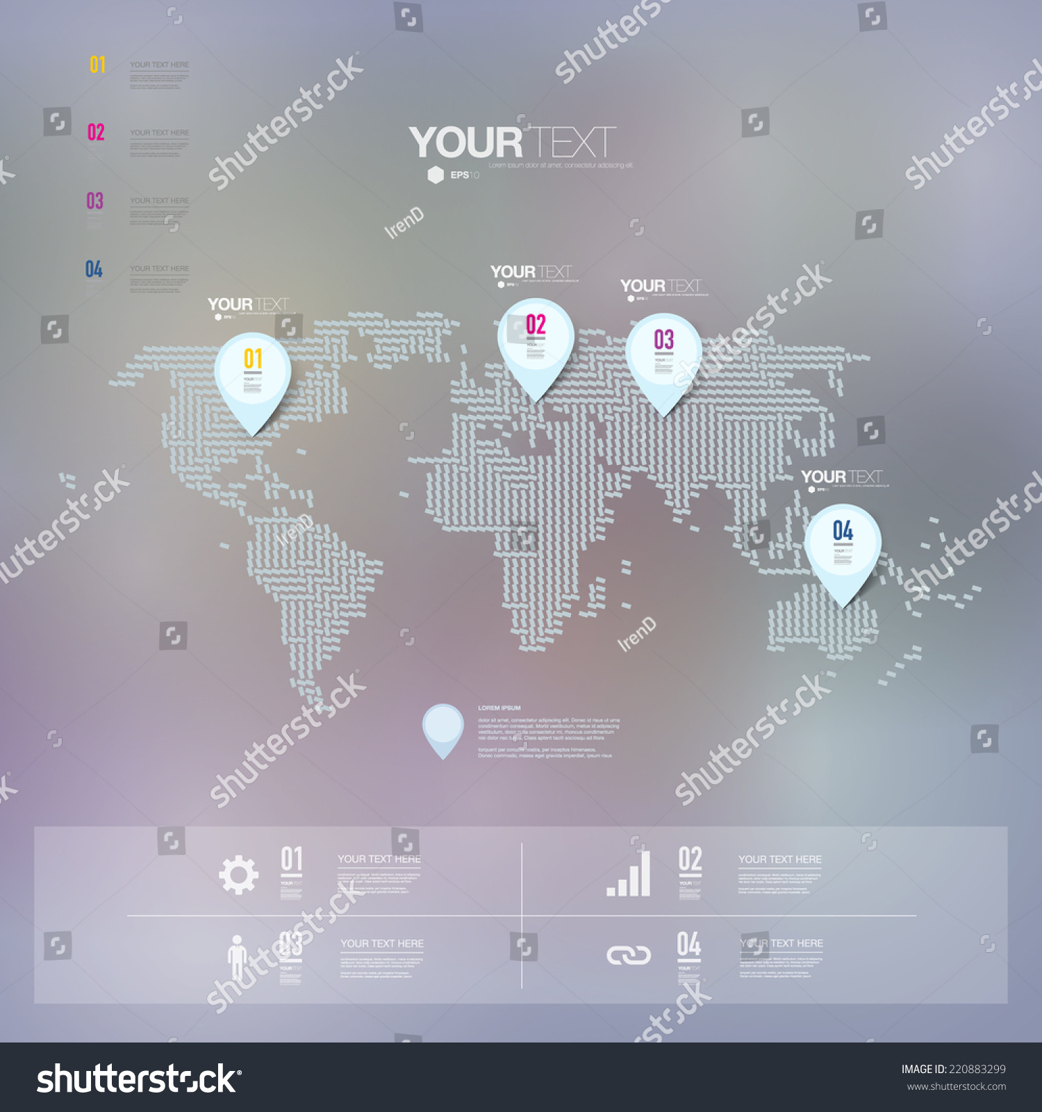 Minimal world map 28 images 20 powerful infographic design kits recent posts gumiabroncs Gallery