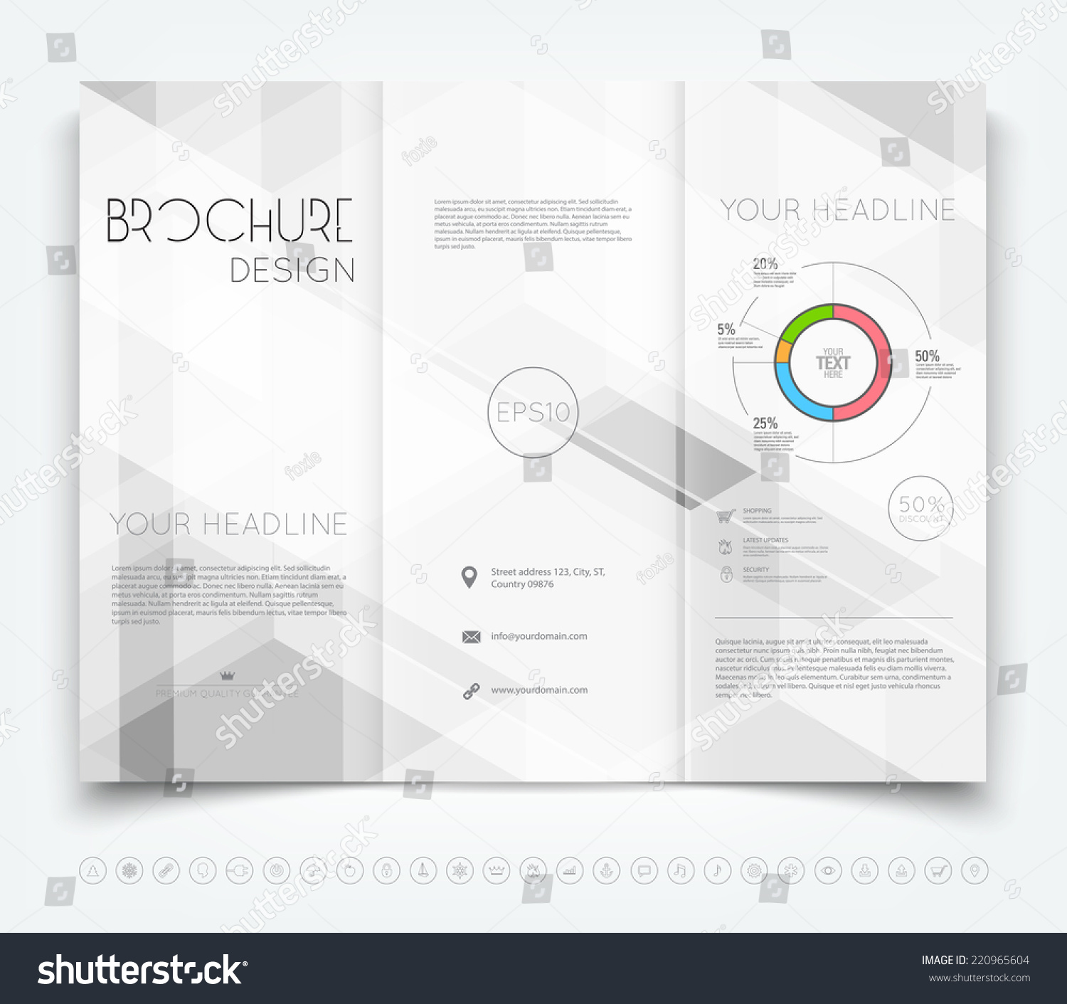 Famous 1 Page Proposal Template Small 1 Week Schedule Template Shaped 110 Block Label Template 1st Birthday Invite Templates Youthful 2 Page Resume Format Doc Orange2 Page Resume Template Word Vector Modern Trifold Brochure Design Template Stock Vector ..