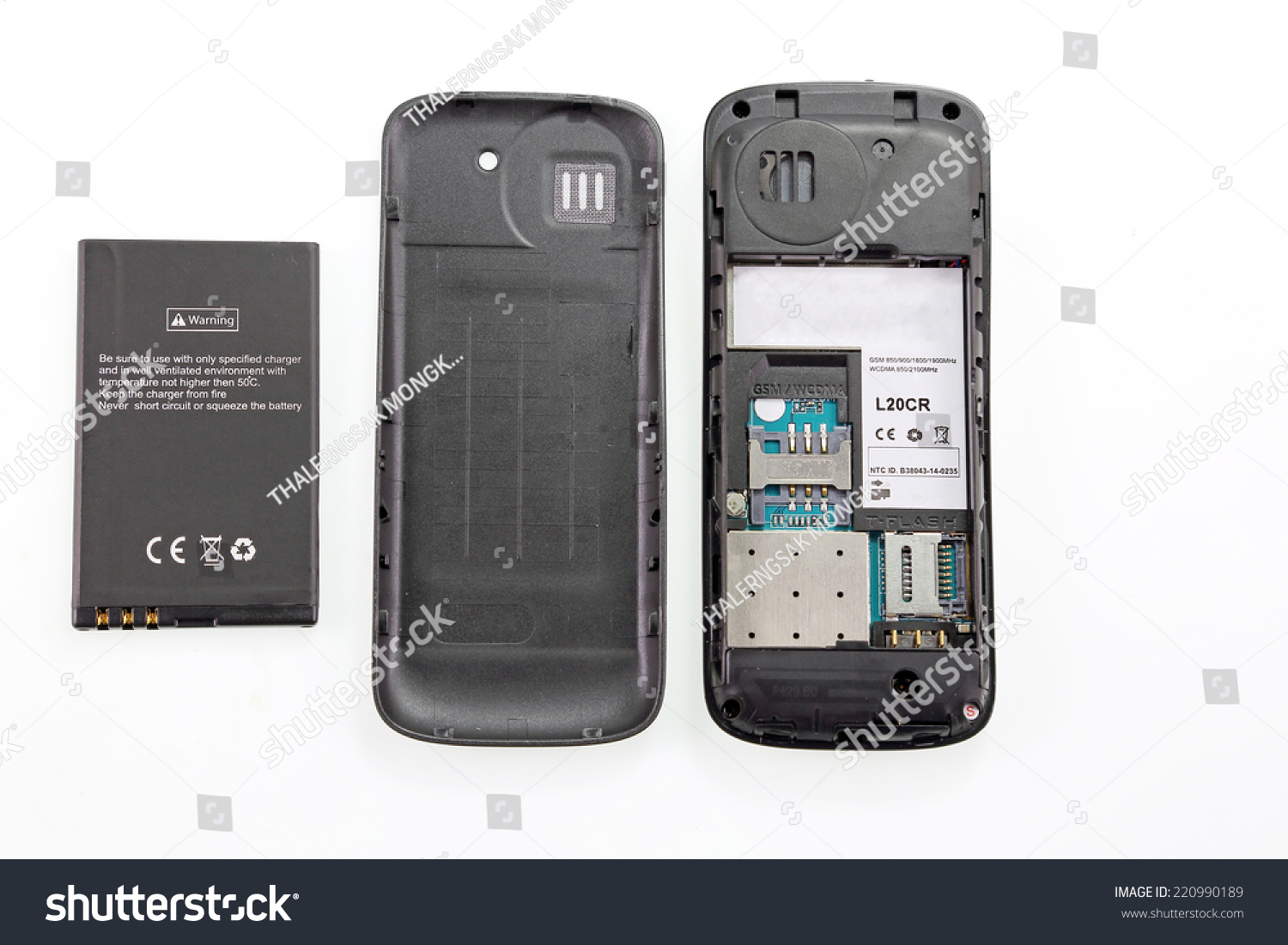 Deconstructing Mobile Phone Stock Photo Edit Now 220990189 Memory Chips In A Cell Board Royalty Free Image