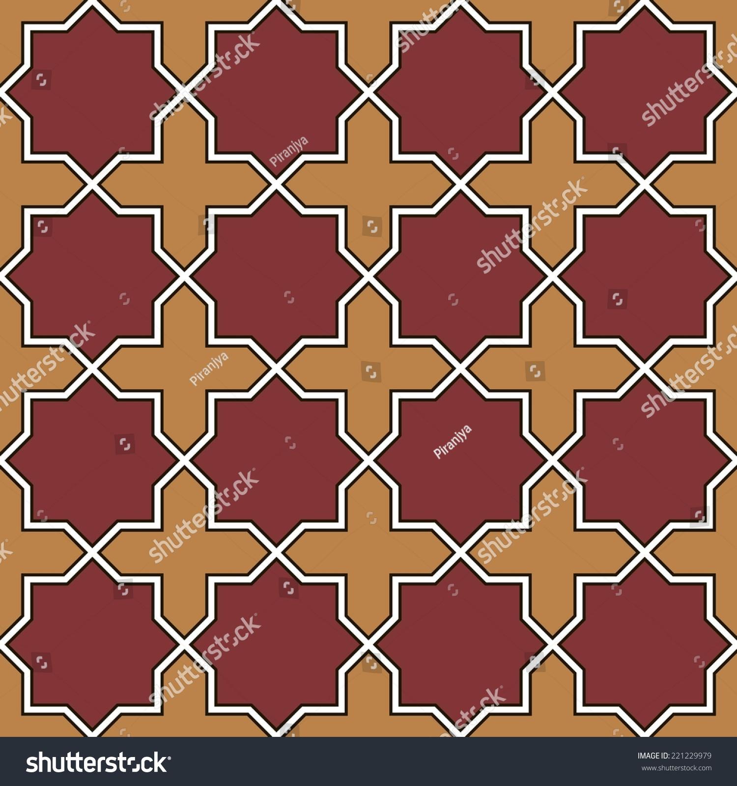 Traditional arabian seamless pattern islamic geometrical stock traditional arabian seamless pattern islamic geometrical ornament mosaic tile floor vector illustration dailygadgetfo Choice Image