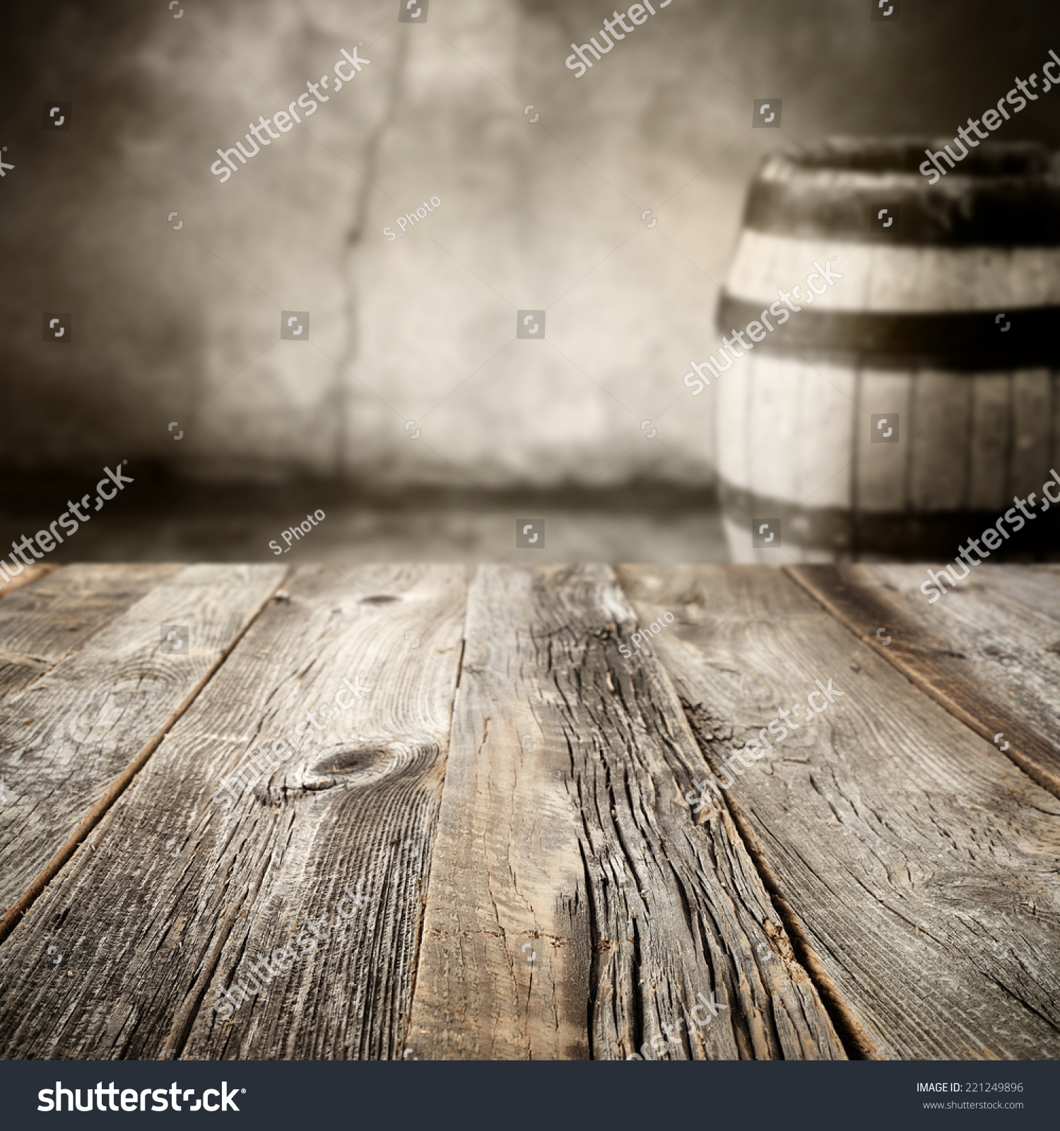 Wine Barrel Wood Wooden Table Free Stock Photo (Edit Now