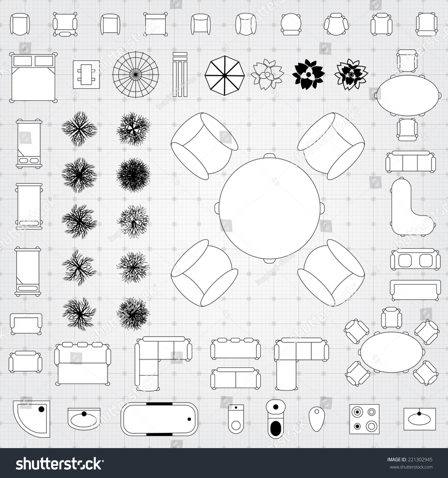 floor plan with furniture. plan plans with floor furniture