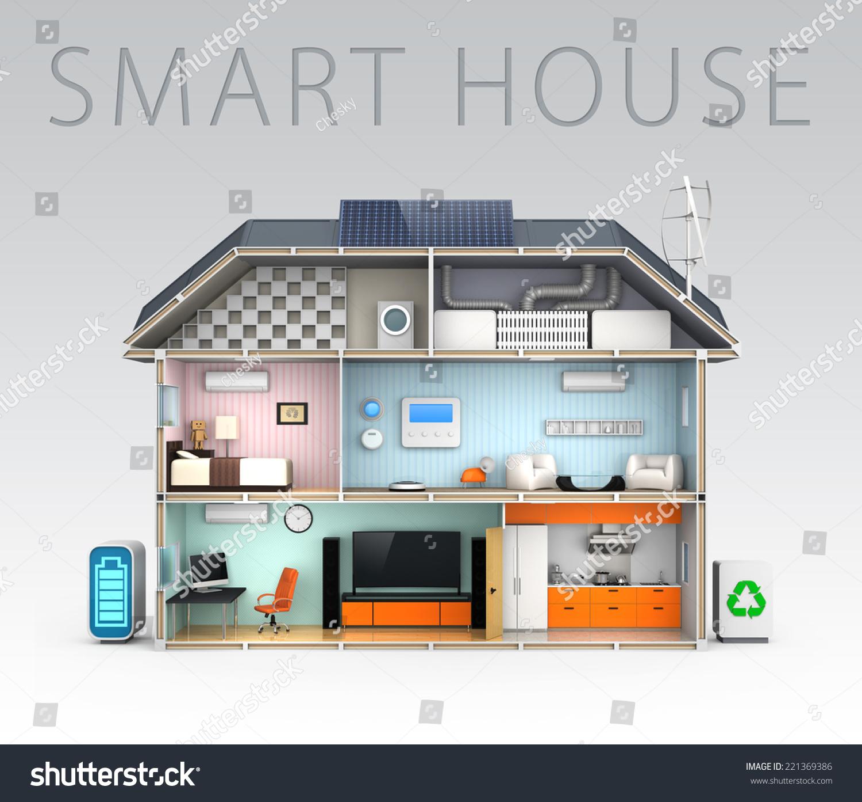 Basic Description Of Home Automation Concept With Smart