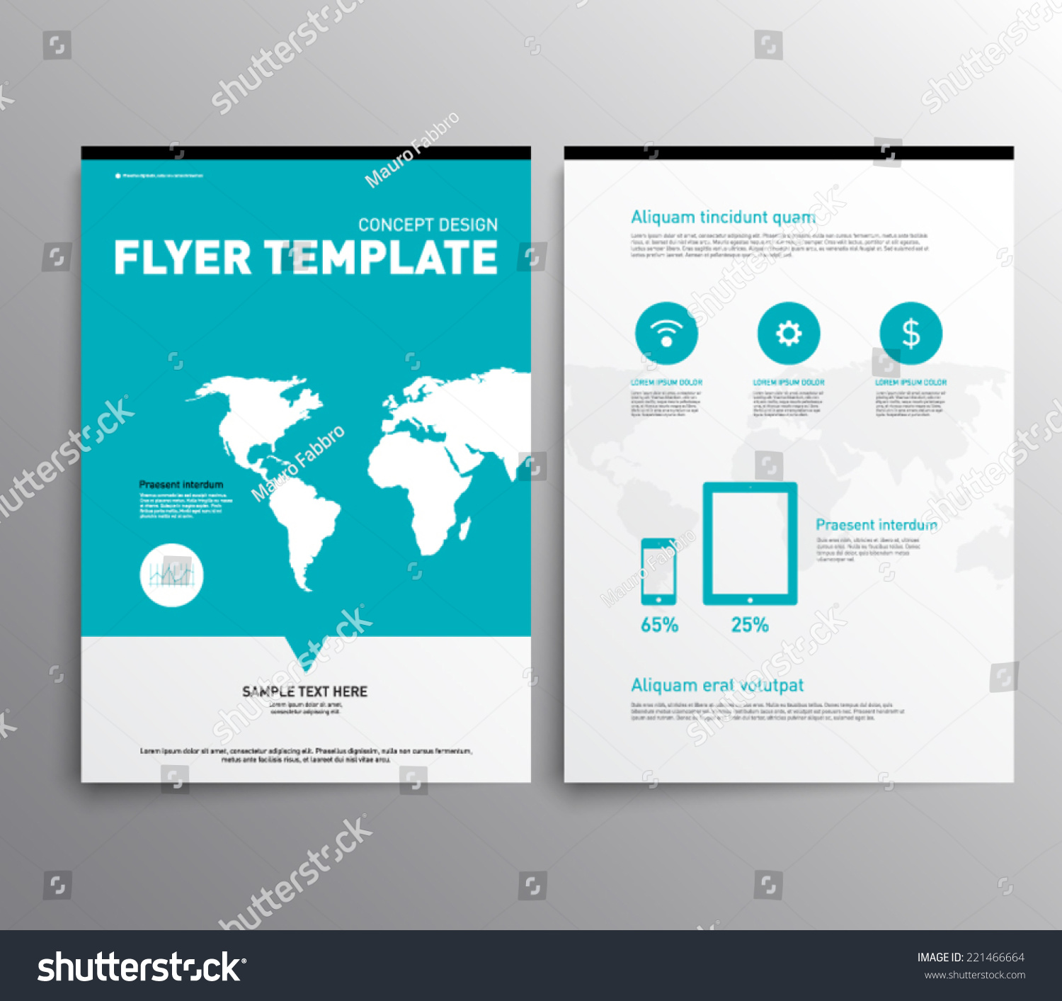 abstract modern cover brochure flyer design stock vector  abstract modern cover brochure flyer design template elegant flat design style vector