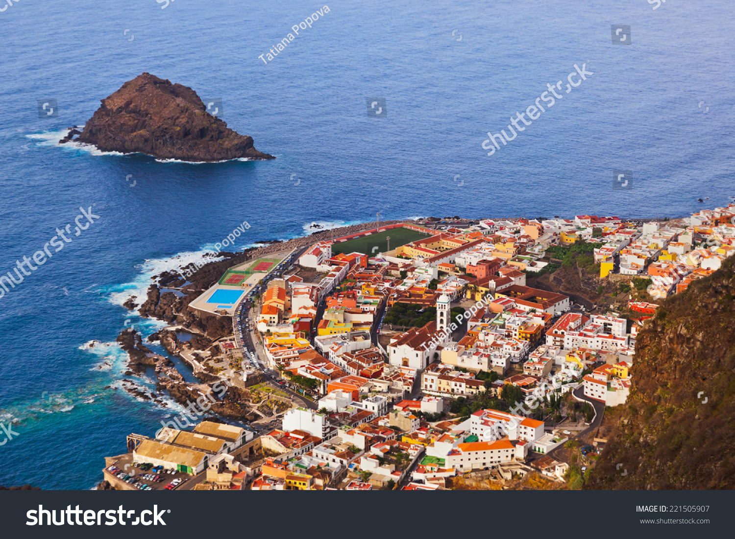 Garachico Spain  city pictures gallery : Garachico In Tenerife Island Canary Spain Stock Photo 221505907 ...