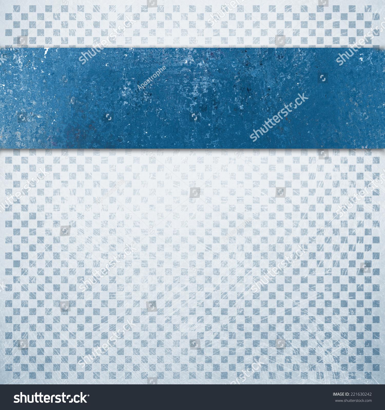 Sea Blue Watercolor Squares Pattern Stock Illustration 464964242 ...