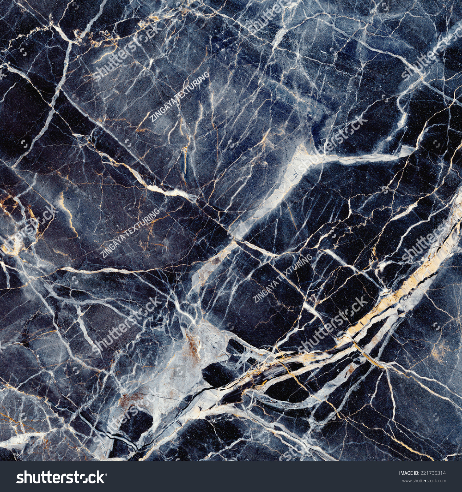 Dark Blue Marble : Marble texture black blue stone background stock photo