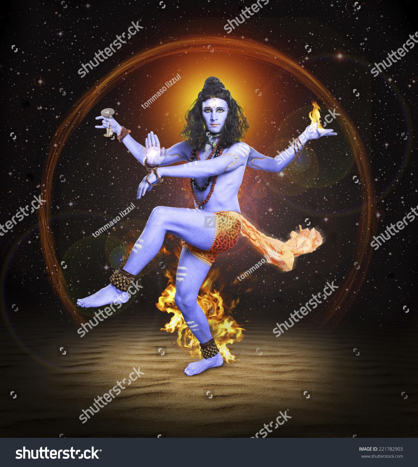 Shiva Nataraja Hindu God Lord Siva Stock Photo 221782903 ...