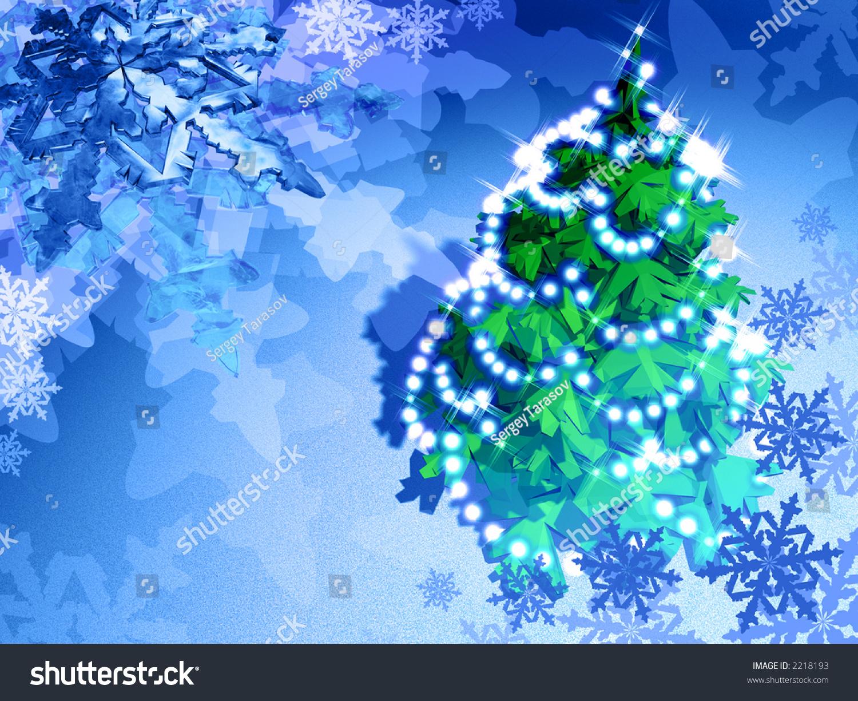 christmas postcard background stock photo 2218193