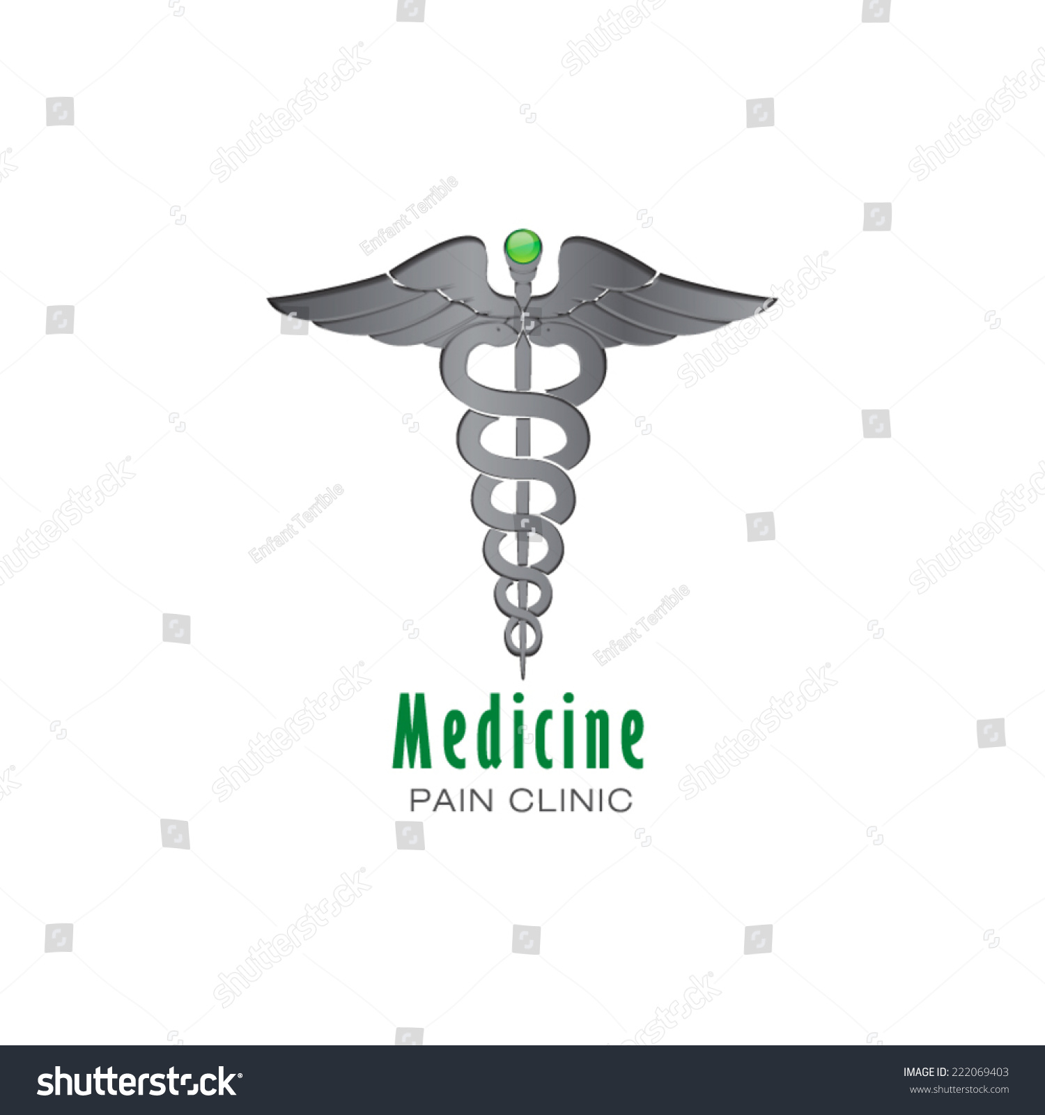 Medical Pharmacy Business Sign Vector Icon Stock Vector Royalty