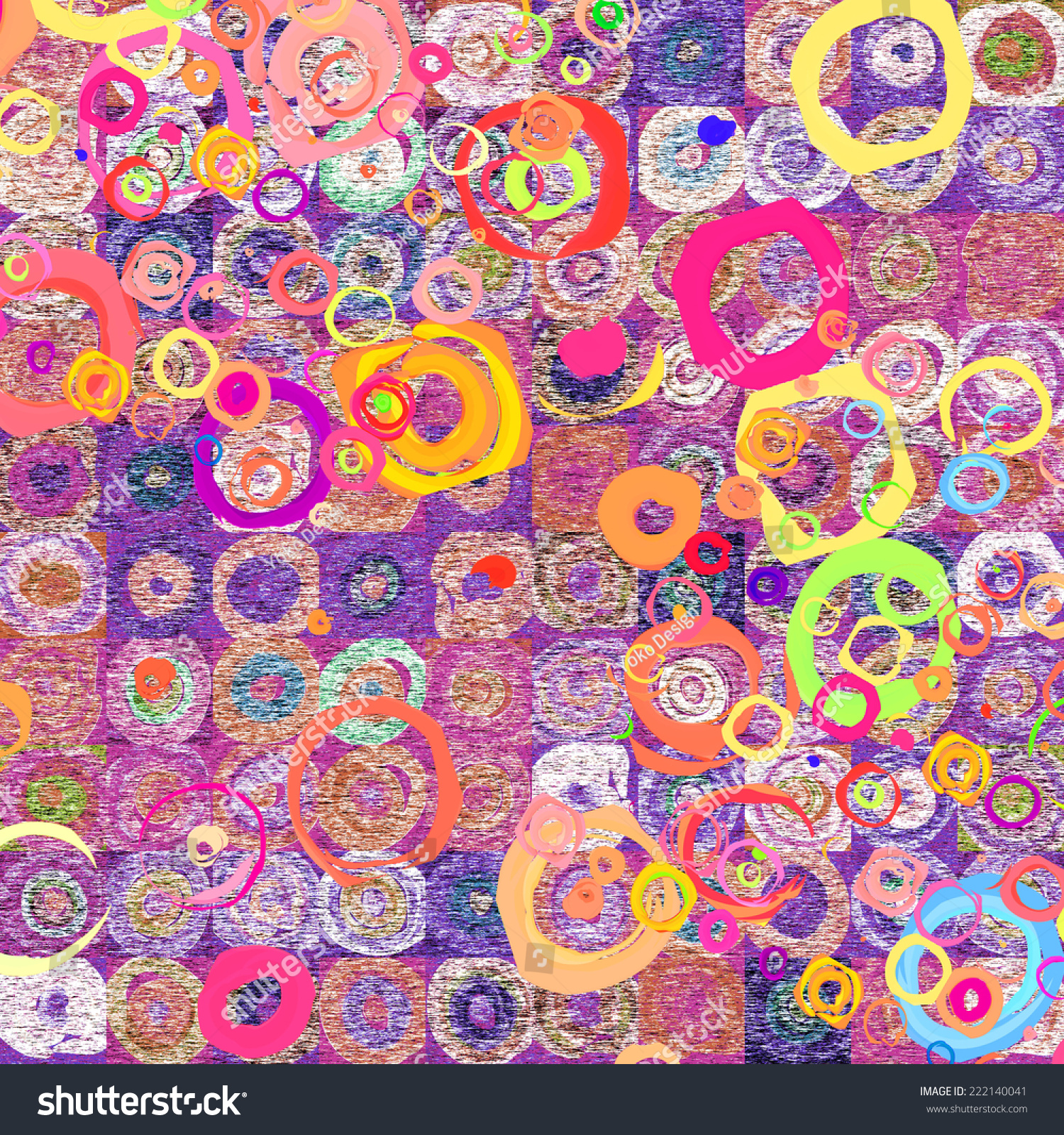 abstract funky pattern wallpaper - photo #6