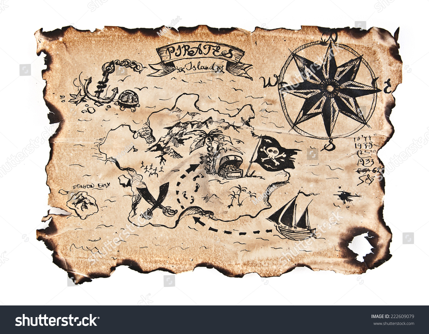 simple treasure maps vintage - photo #4