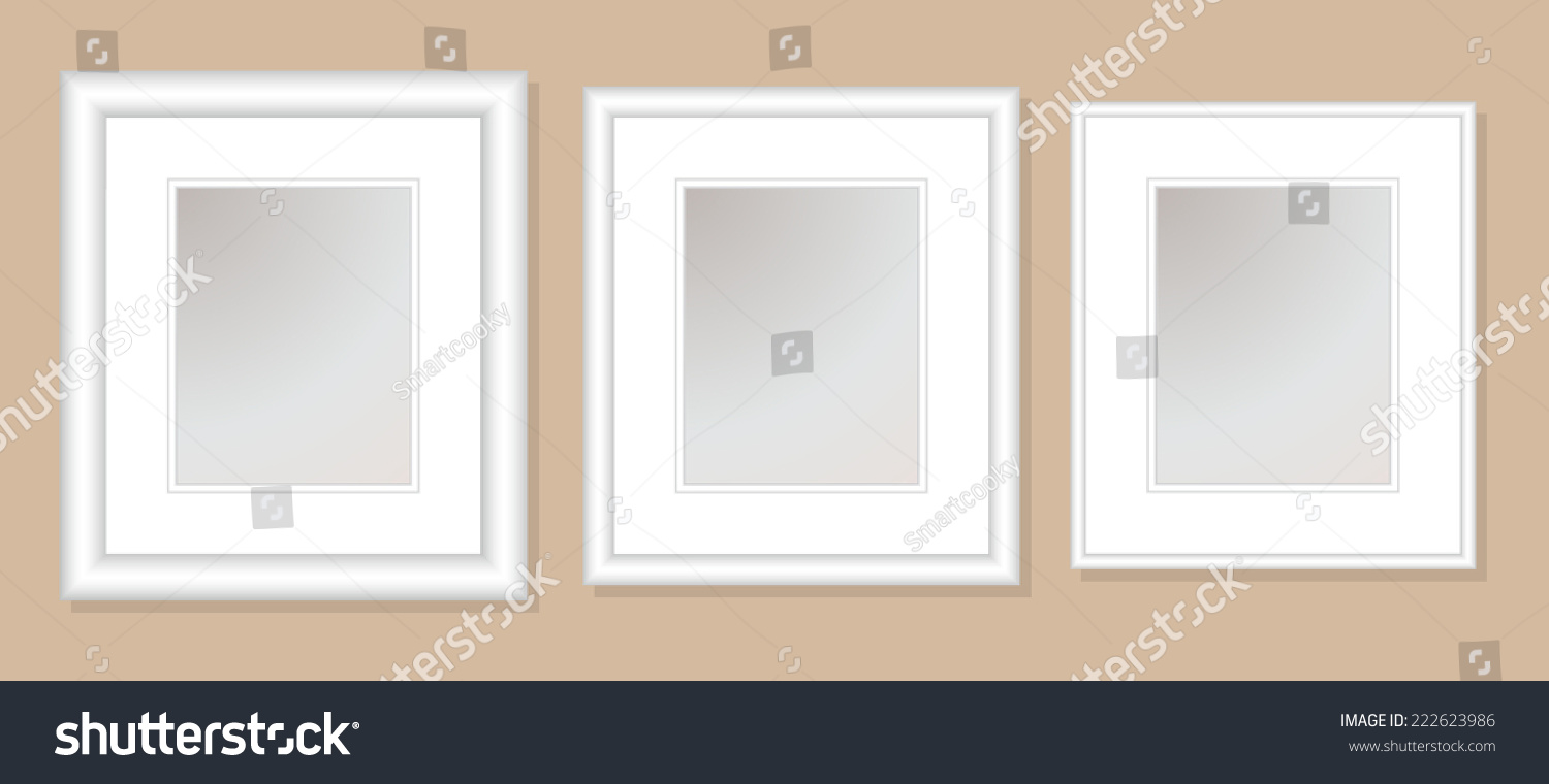 12 X 14 Double Mats Frame 8 X 10 Photo Stock Vector (Royalty Free ...