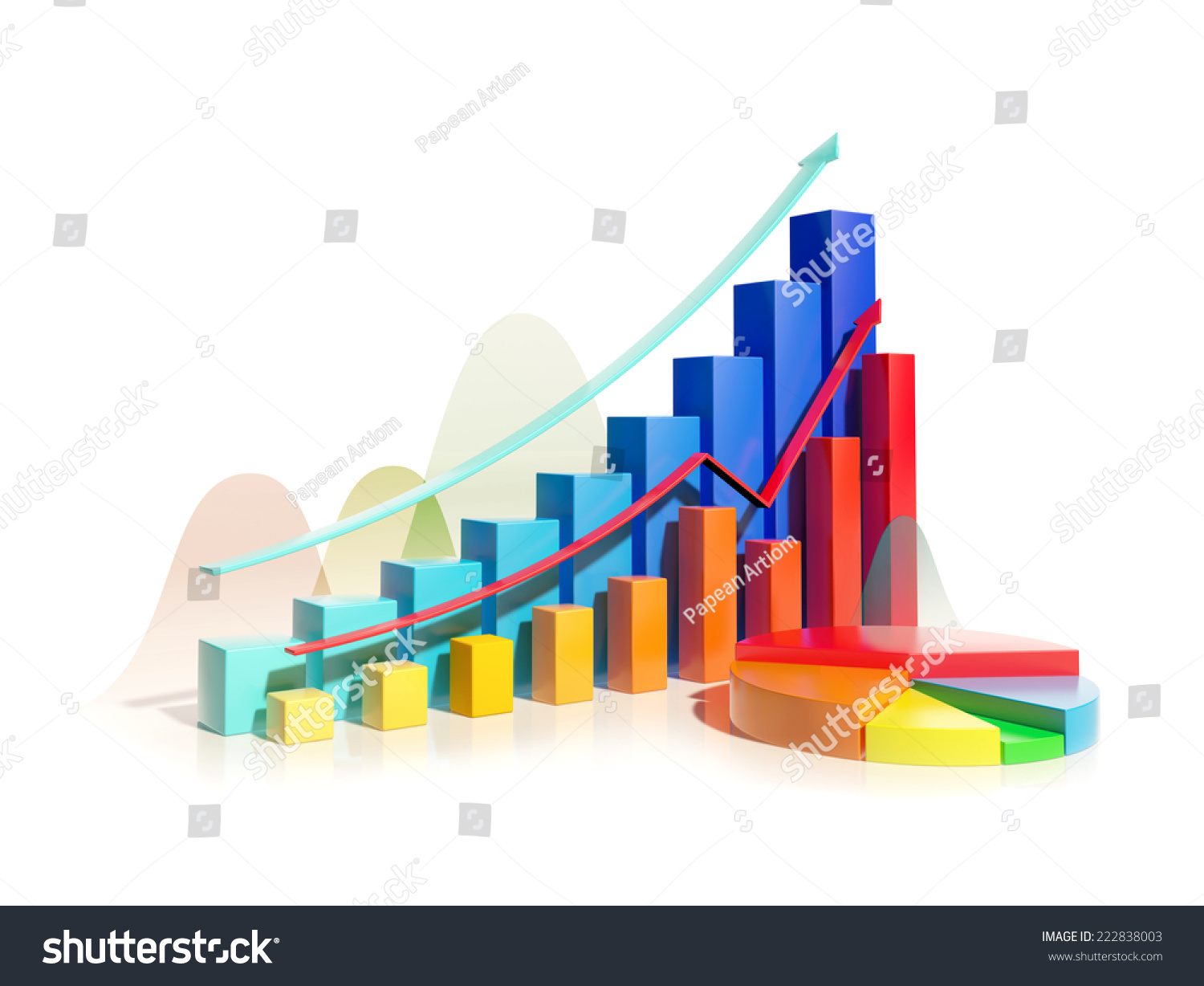 Bar graphs and pie charts image collections free any chart examples growing bar graphs pie chart on stock illustration 222838003 growing bar graphs and pie chart on nvjuhfo Images