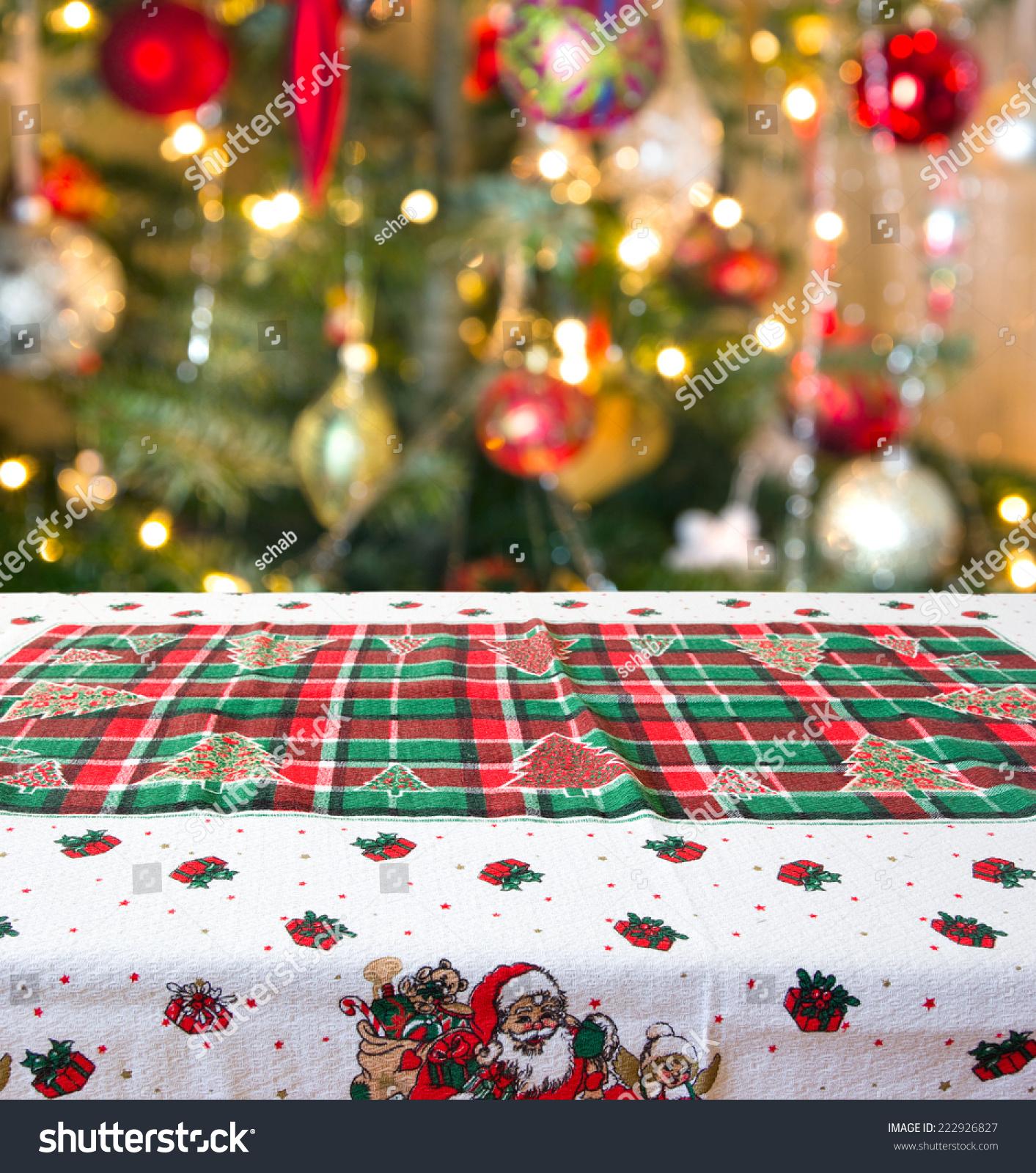 Table Christmas Tree With Lights