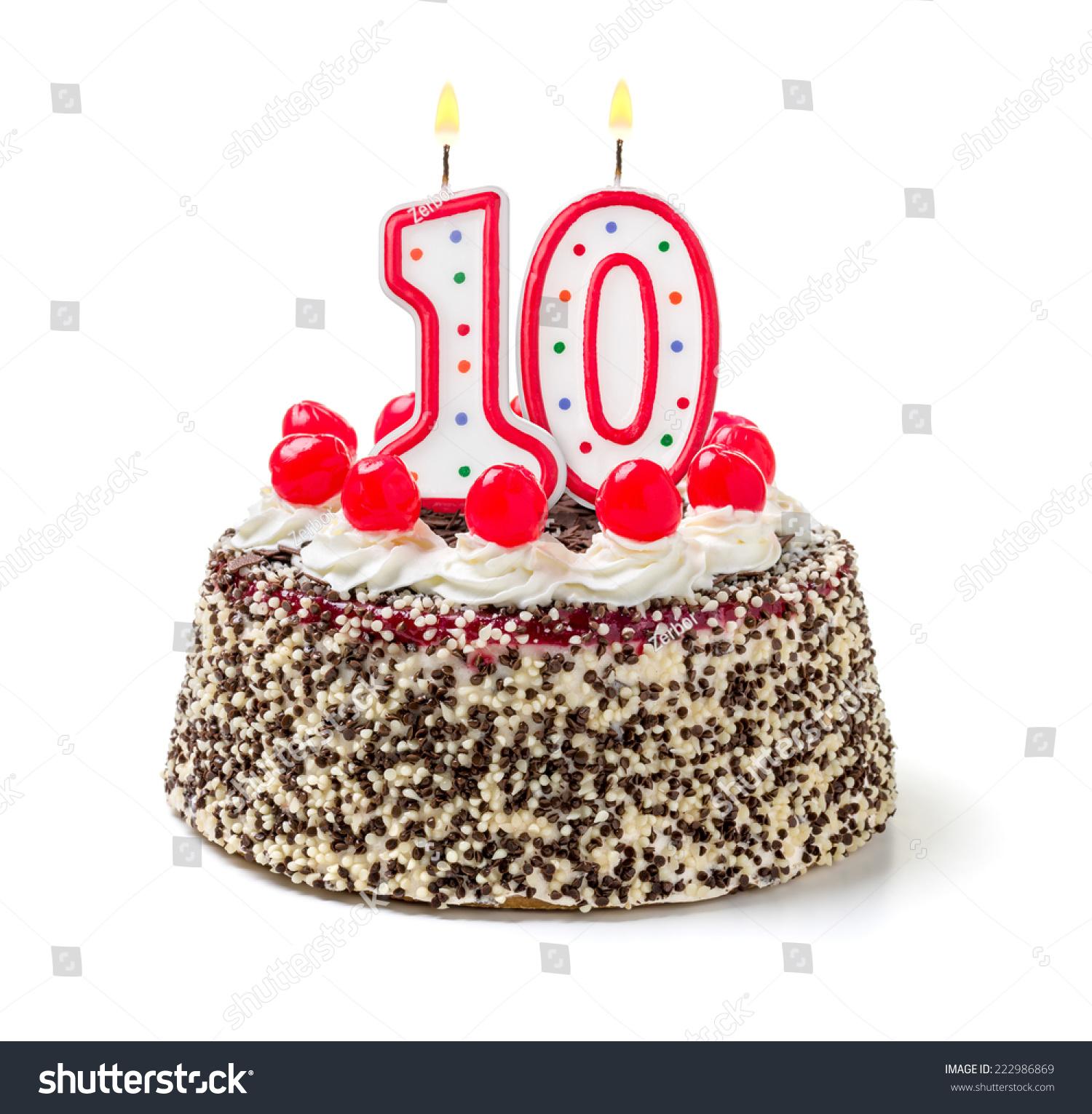 10 birthday cake