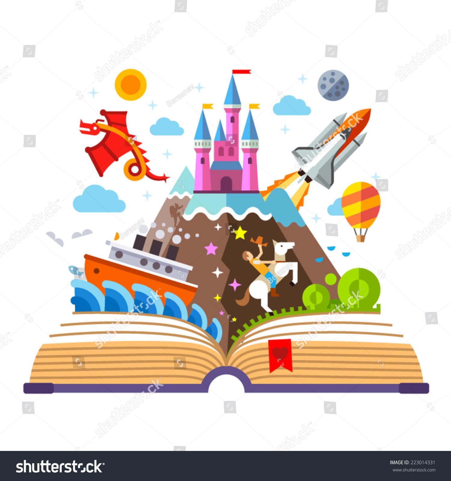 School Books Border Clip Art