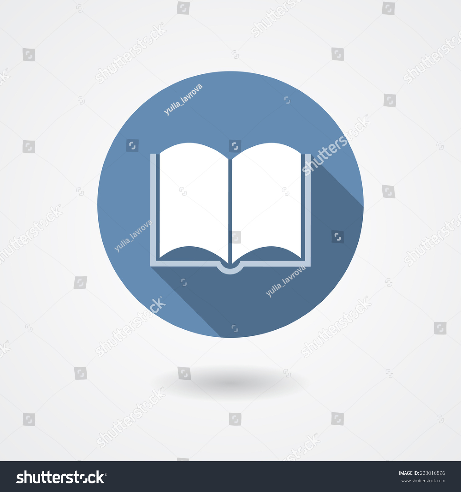 Book magazine or user manual icon isolated on white for Vector canape user manual