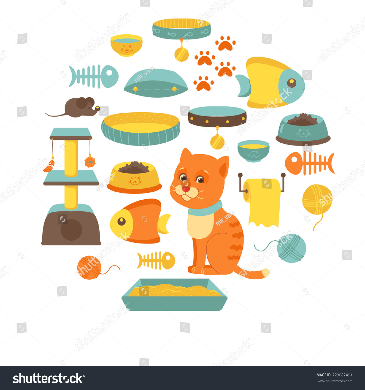 clipart cat toys - photo #10