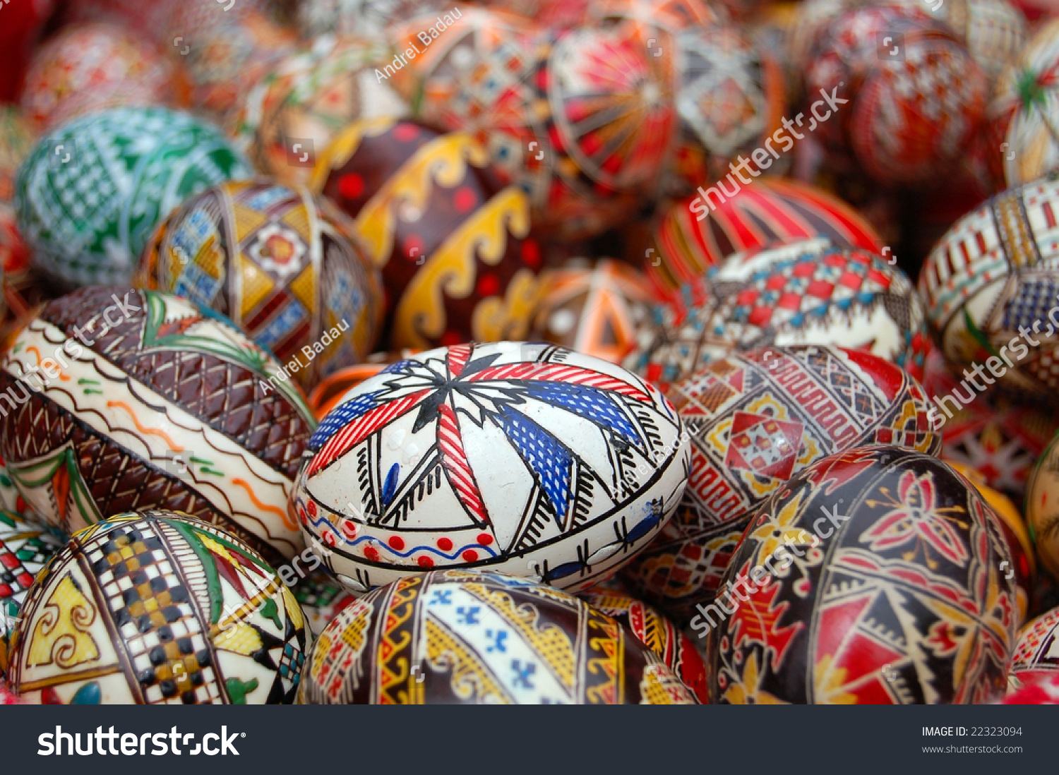 Painted eggs before easter romania stock photo 22323094 shutterstock painted eggs before the easter in romania negle Choice Image