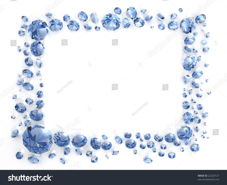 Diamond Frame Stock Illustration 22323127 - Shutterstock