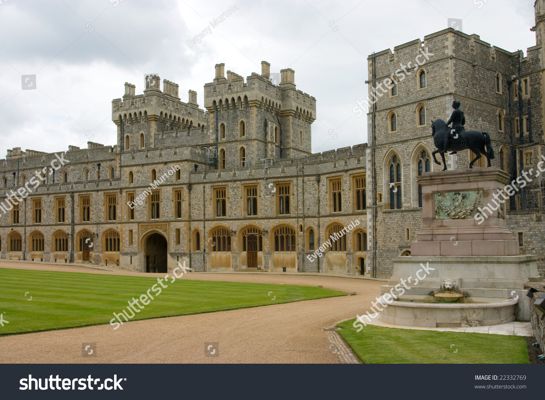 Royal Apartments Windsor Castle UK Stock Photo (Royalty Free ...