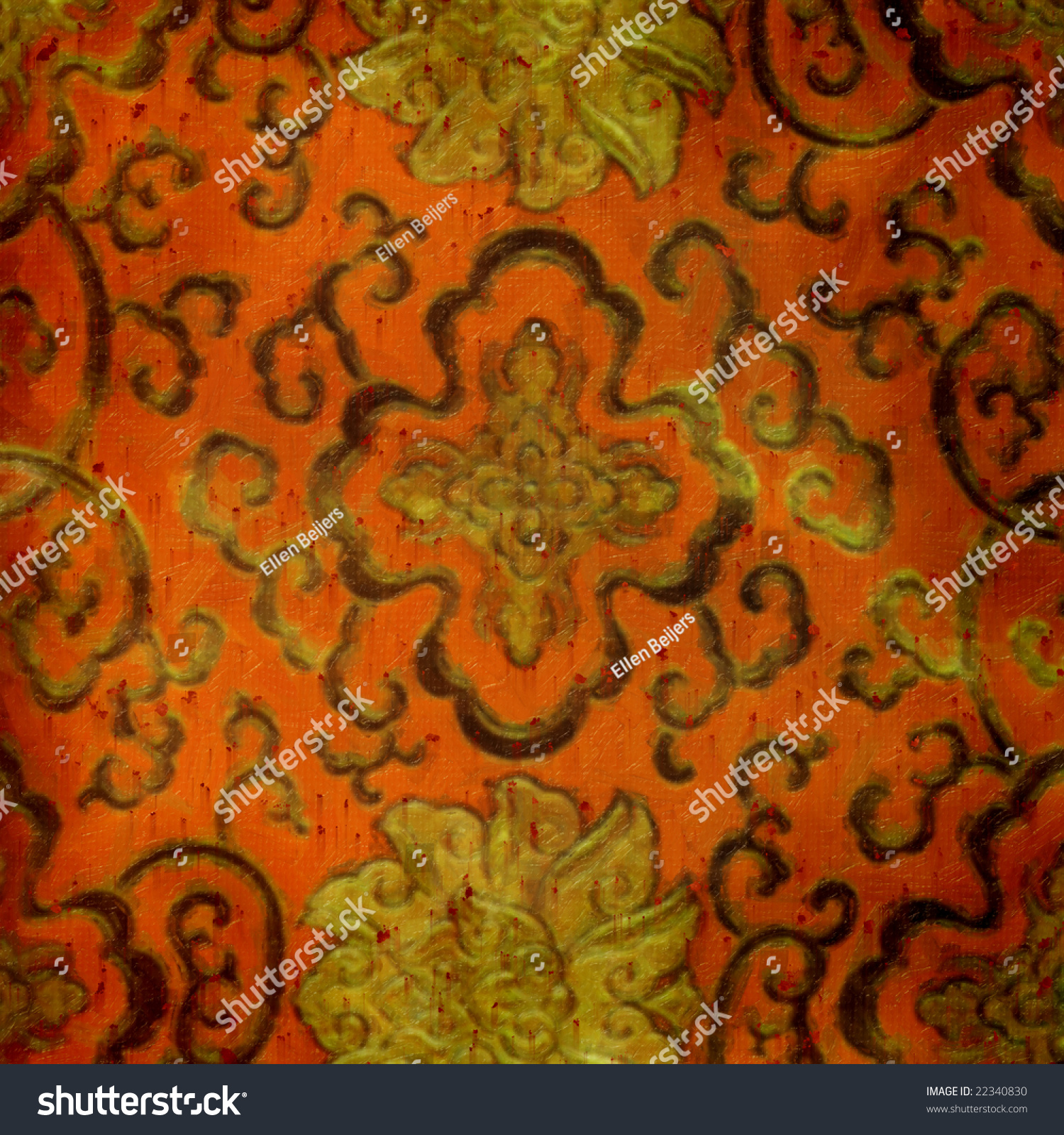 oriental themed wallpaper stained - photo #37