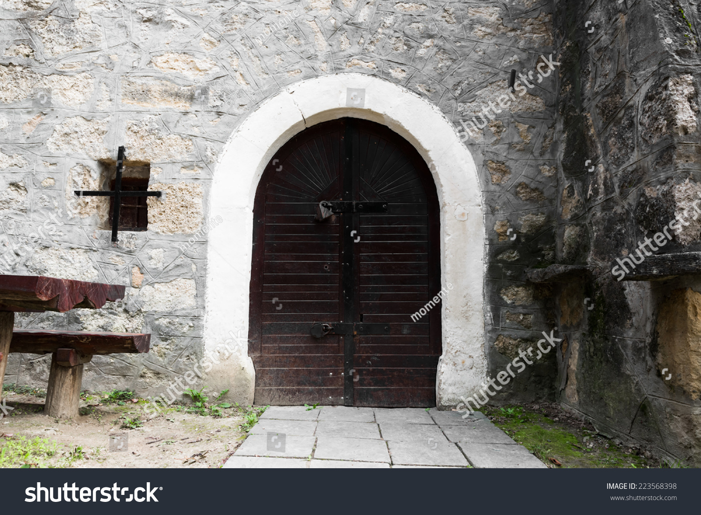 old wine cellar door & Old Wine Cellar Door Stock Photo 223568398 - Shutterstock pezcame.com