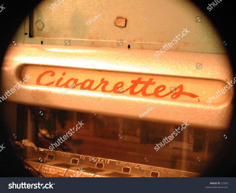 antique cigarette machine value