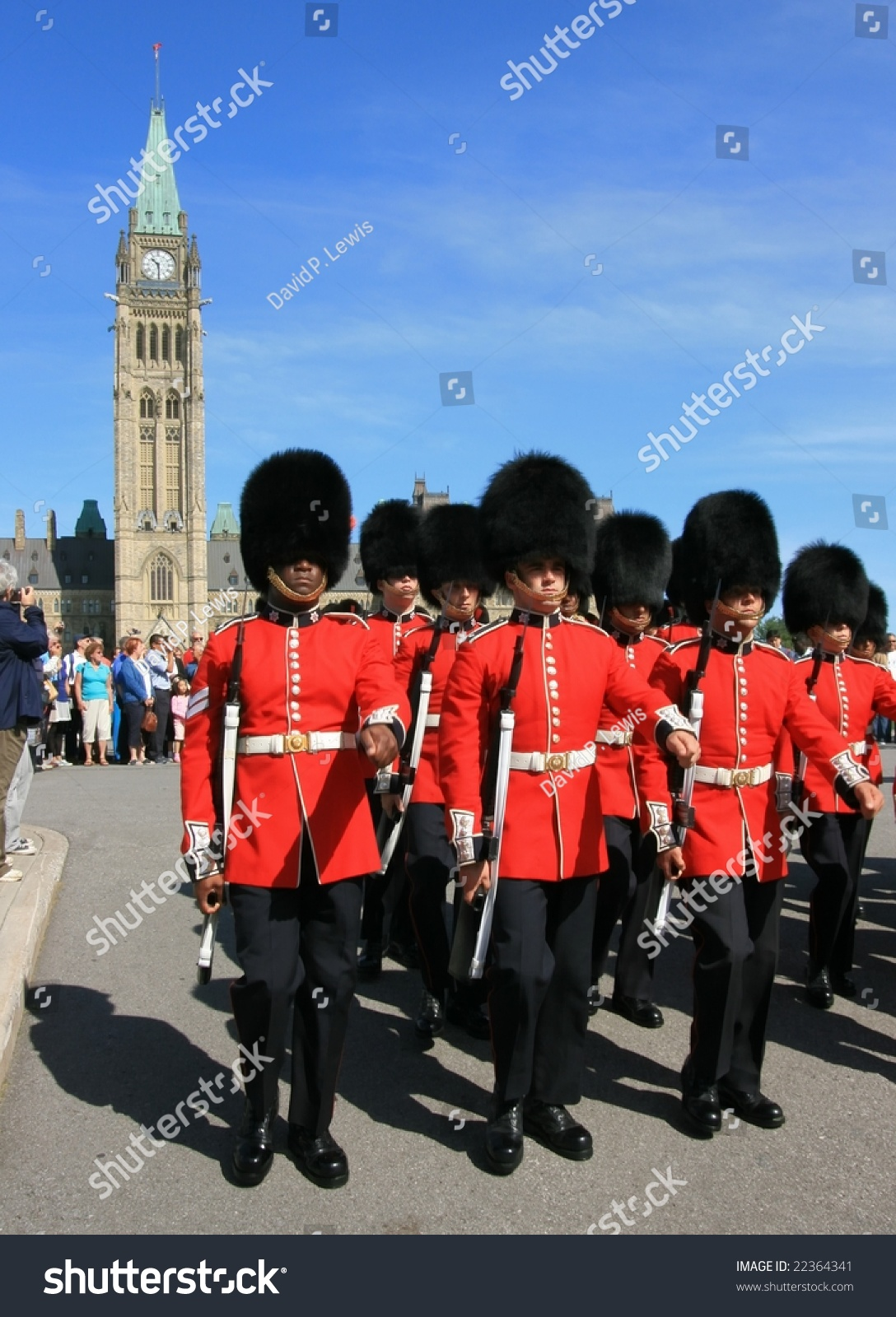 The governor general s foot guards -  Governor General S Foot Guards During Changing Of The Preview Save To A Lightbox