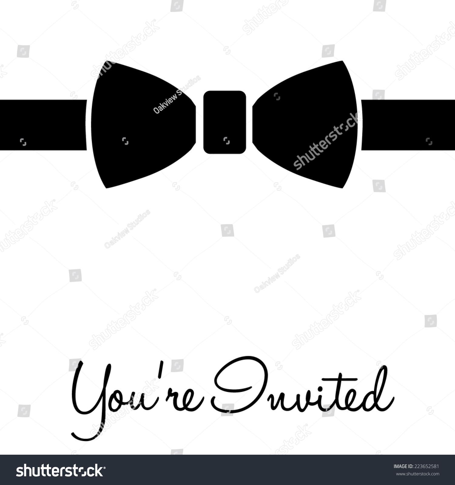 Formal Invitation Message for luxury invitations template