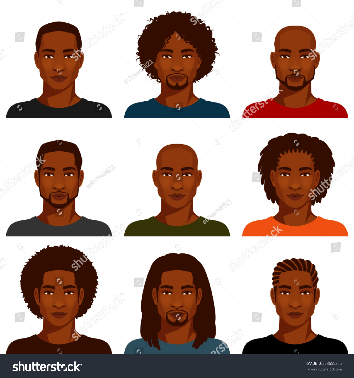 Awe Inspiring African American Men Various Hairstyles People Beauty Fashion Natural Hairstyles Runnerswayorg