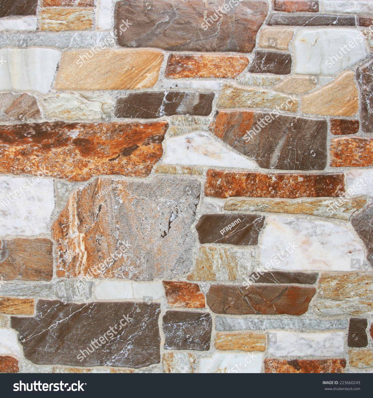 Marble Floor Construction : Marble tiles floor walkway construction background texture