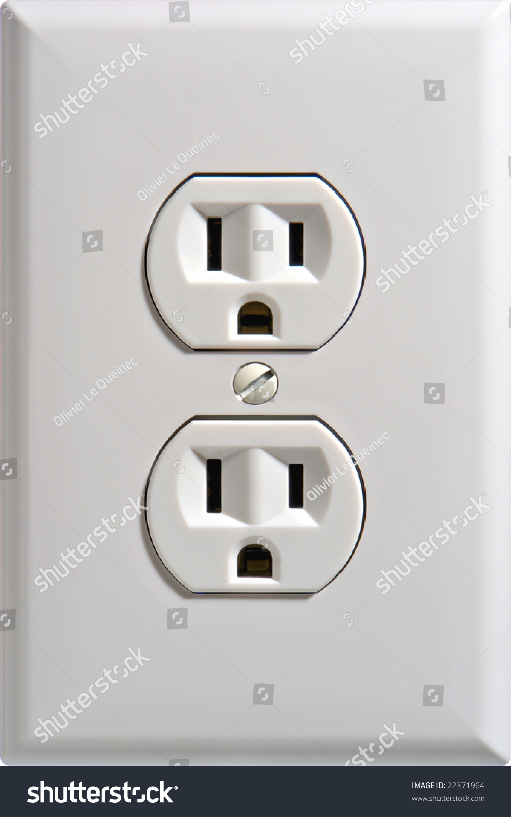North American Standard 110 Volt Electric Stock Photo (Edit Now ...